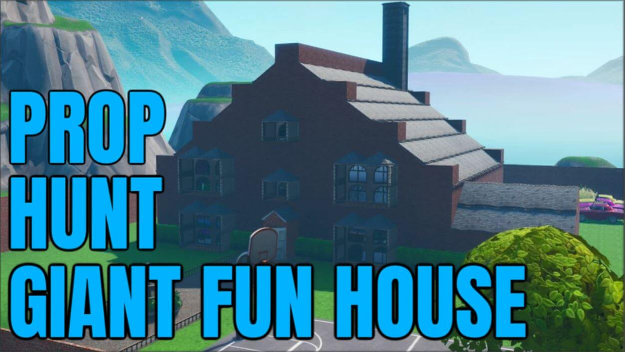 PROP HUNT GIANT FUN HOUSE