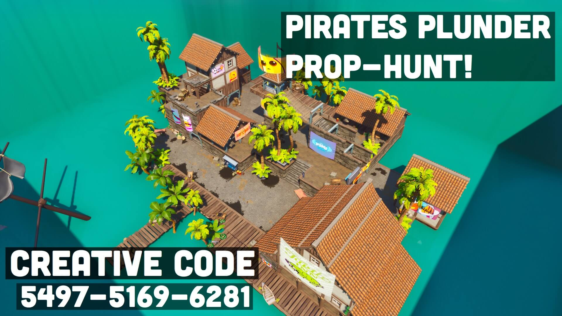 PIRATES PLUNDER PROP-HUNT!