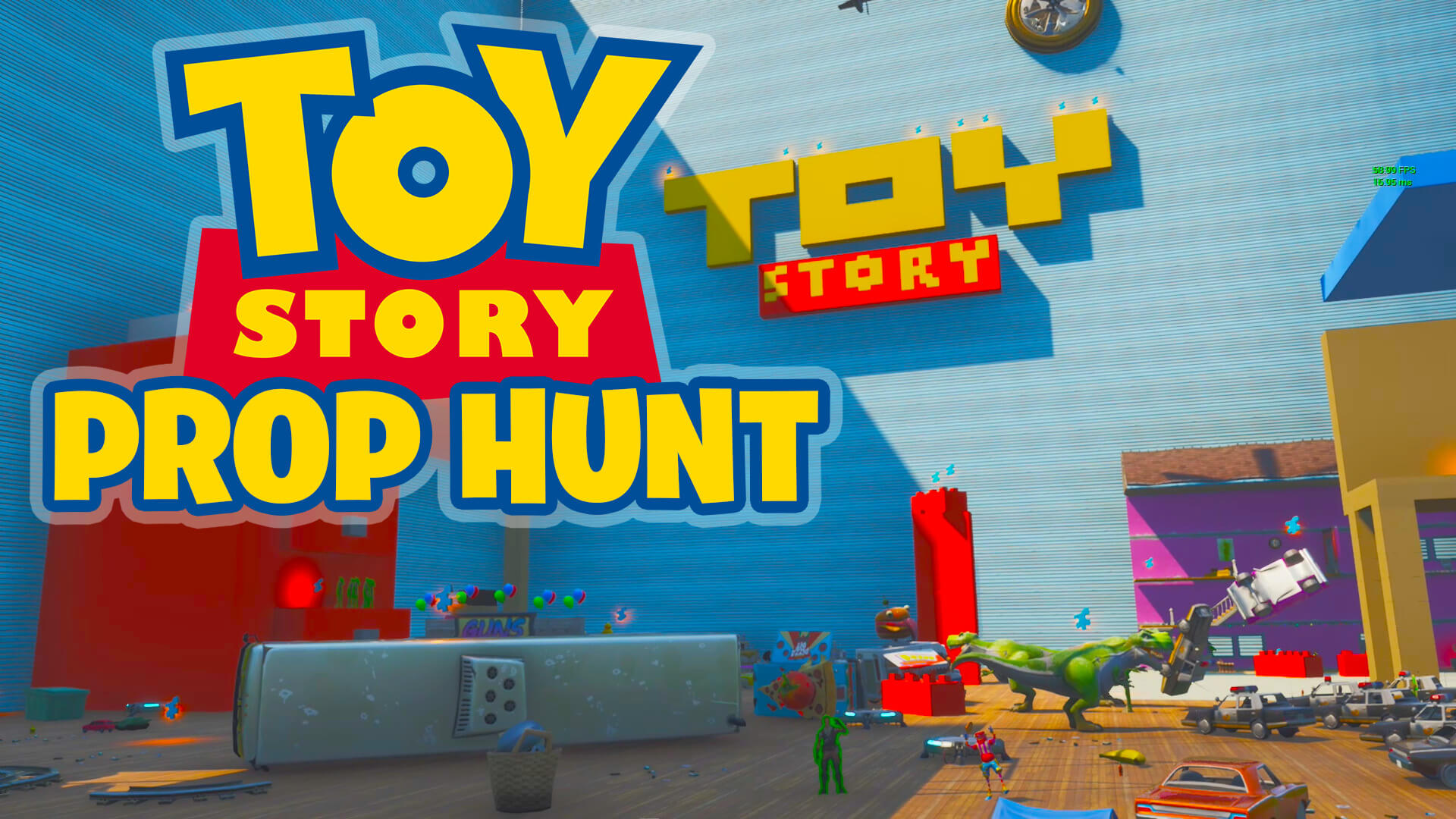 TOY STORY PROP HUNT