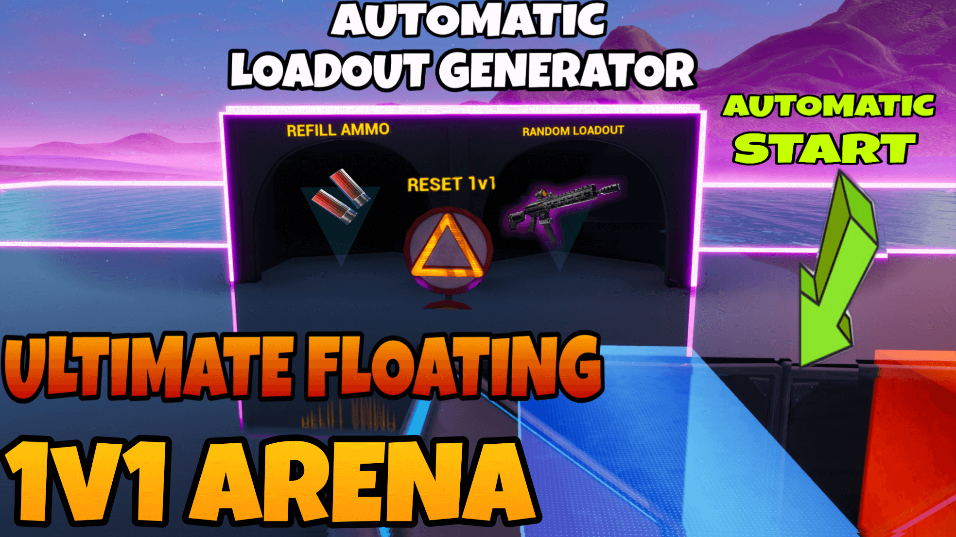 ULTIMATE FLOATING 1V1 ARENA