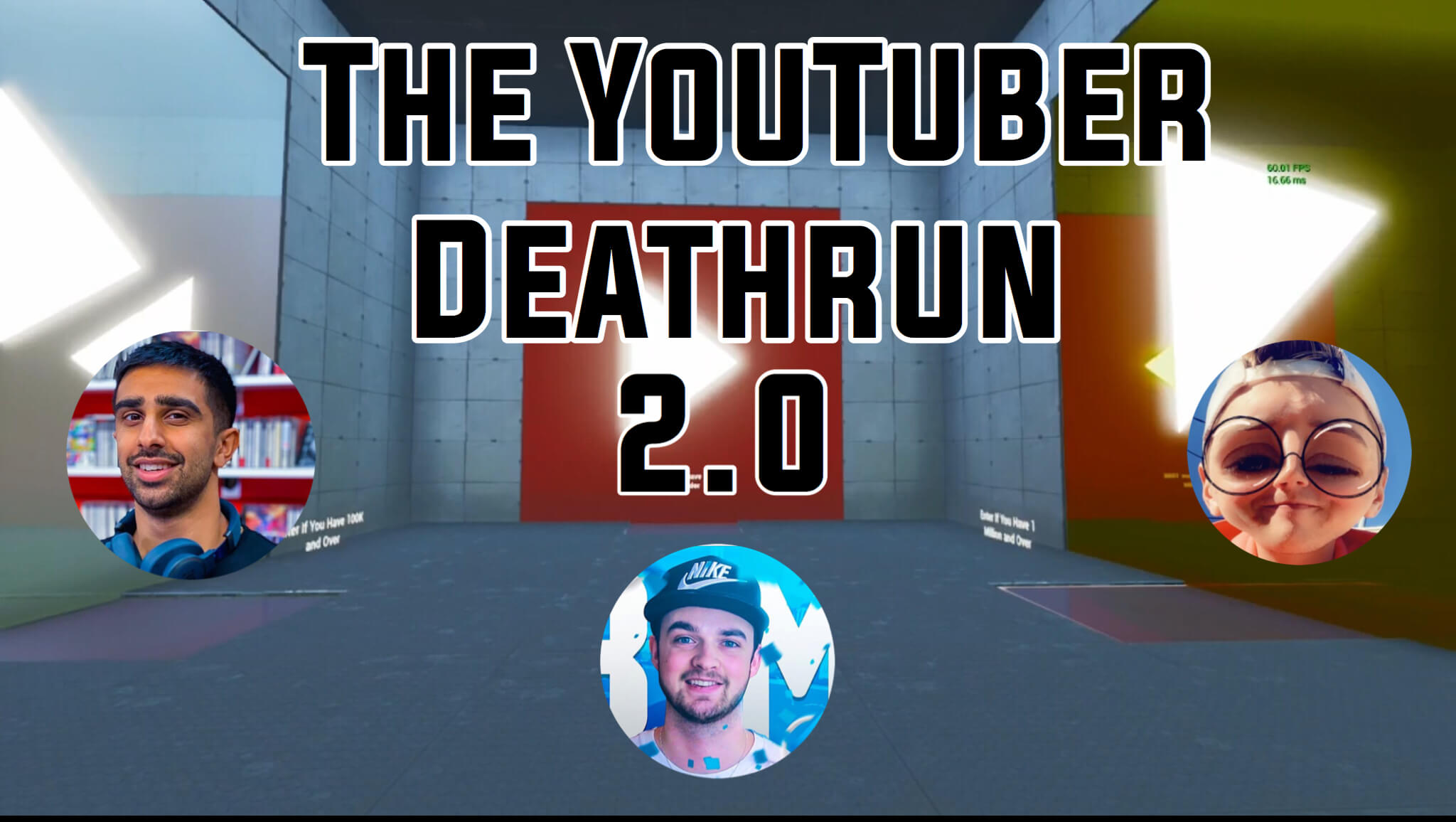 THE YOUTUBER DEATHRUN 2.0