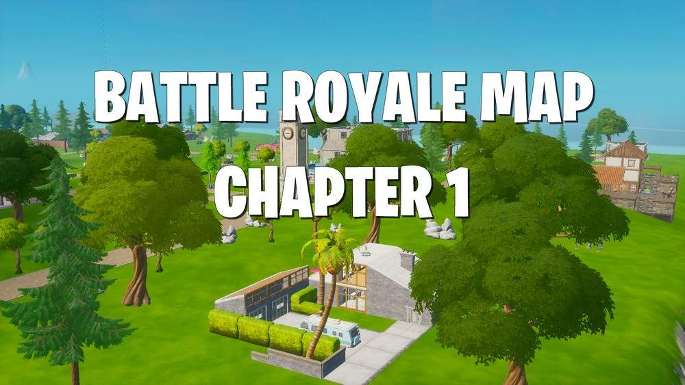 BATTLE ROYALE MAP CHAPTER 1