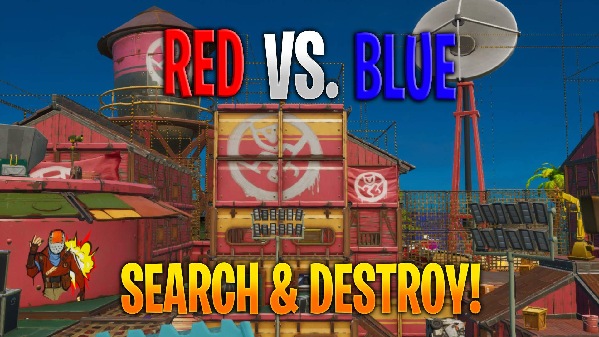 RED VS. BLUE SEARCH & DESTROY!