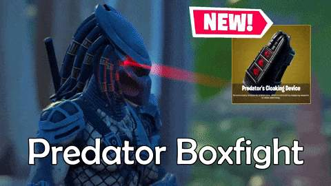 PREDATOR INVISIBILITY CLOAK BOXFIGHT