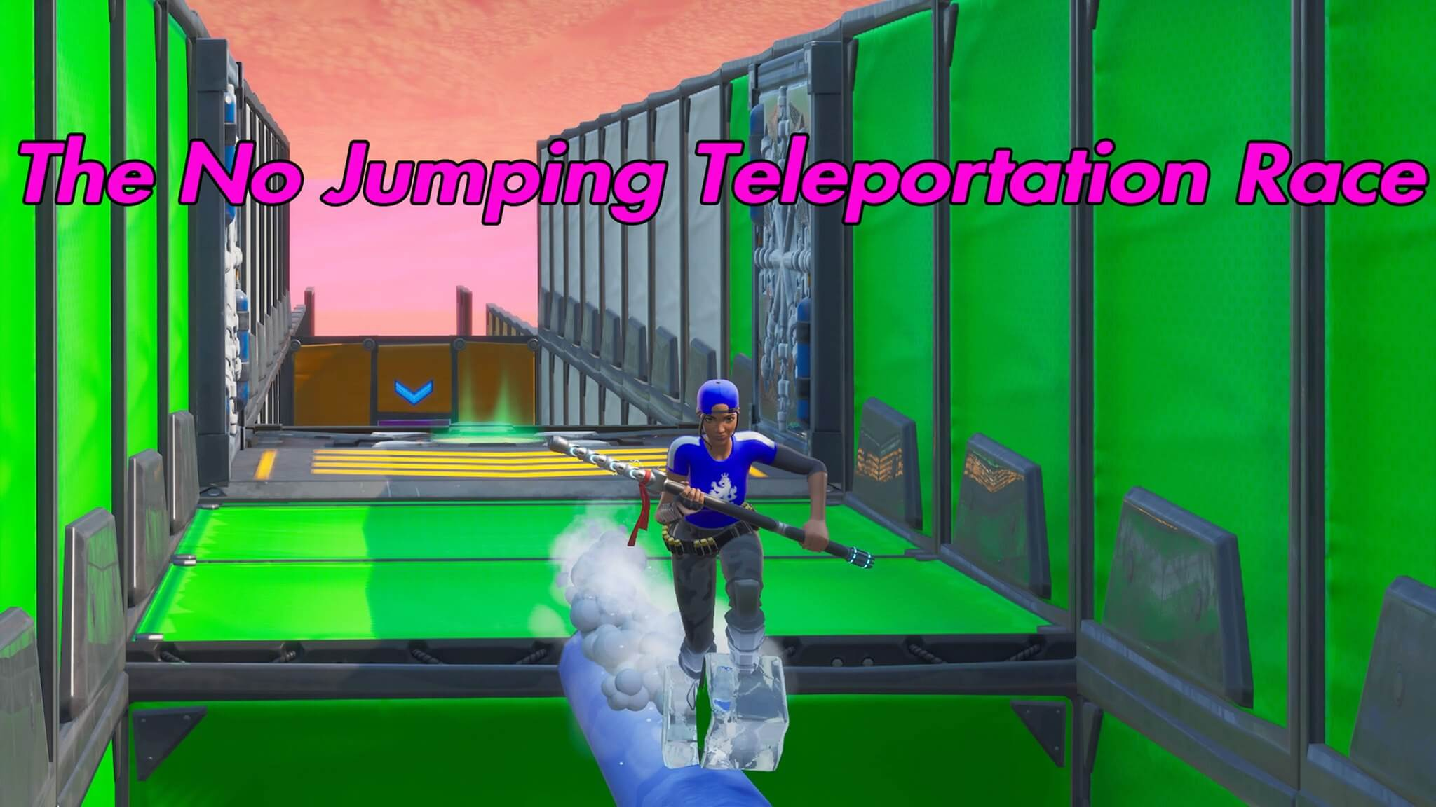 NO JUMPING TELEPORTATION RACE