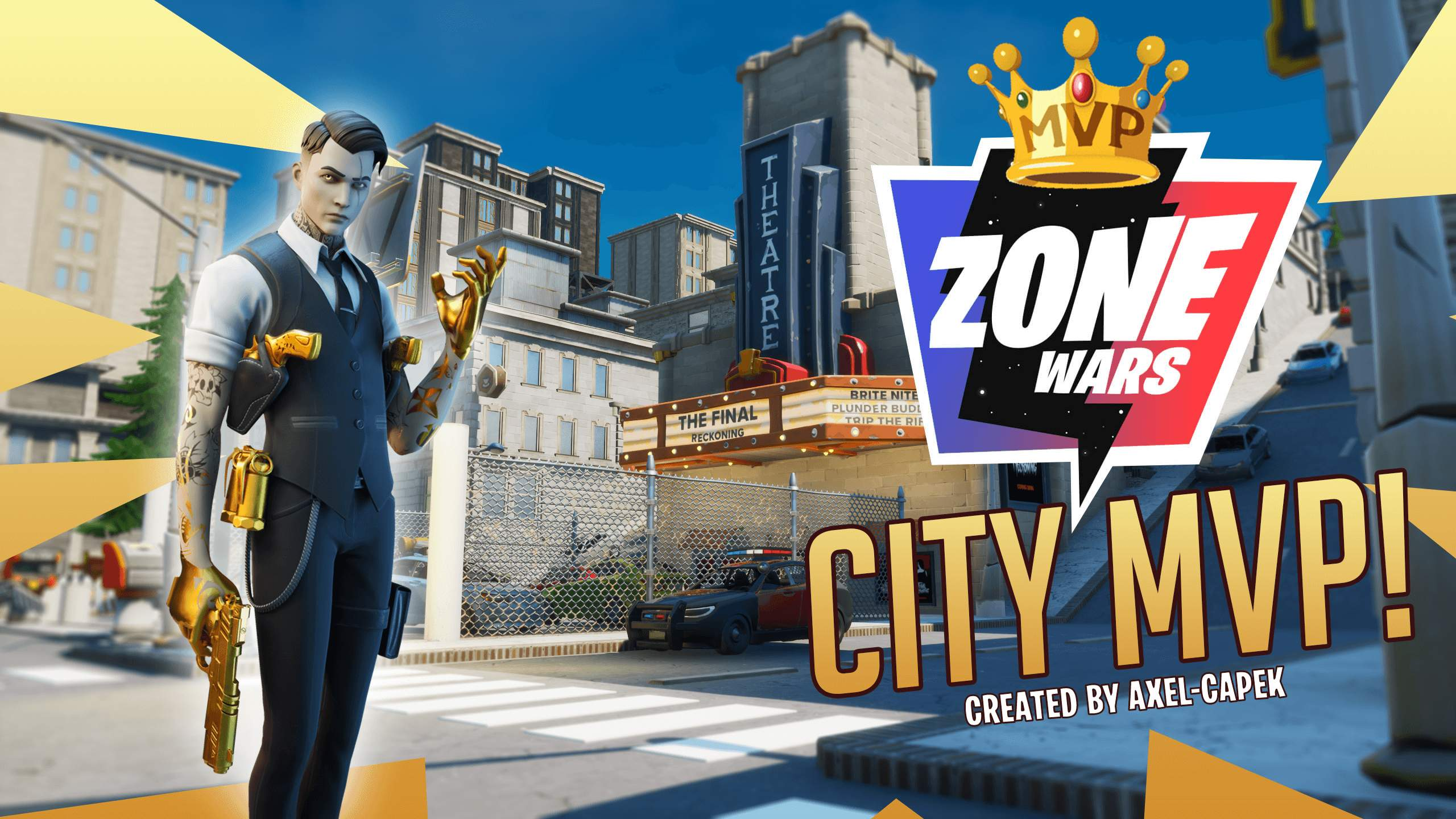 ZONE WARS: CITY MVP!