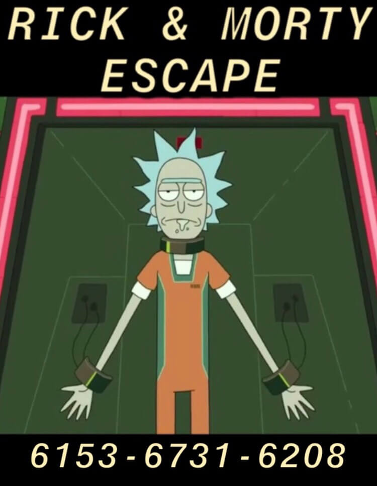 RICK & MORTY ESCAPE