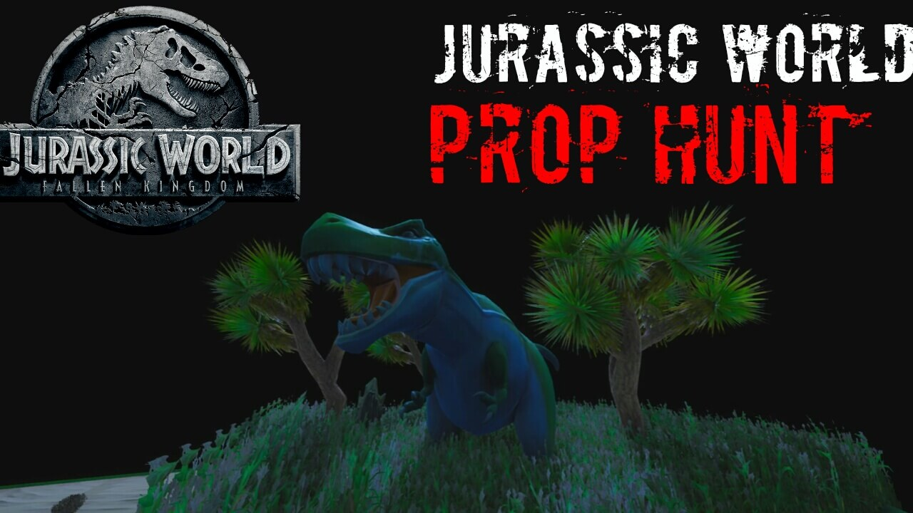 JURASSIC WORLD! PROP HUNT! LAZZQI_CWL