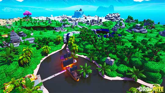 mini fortnite map codes creative