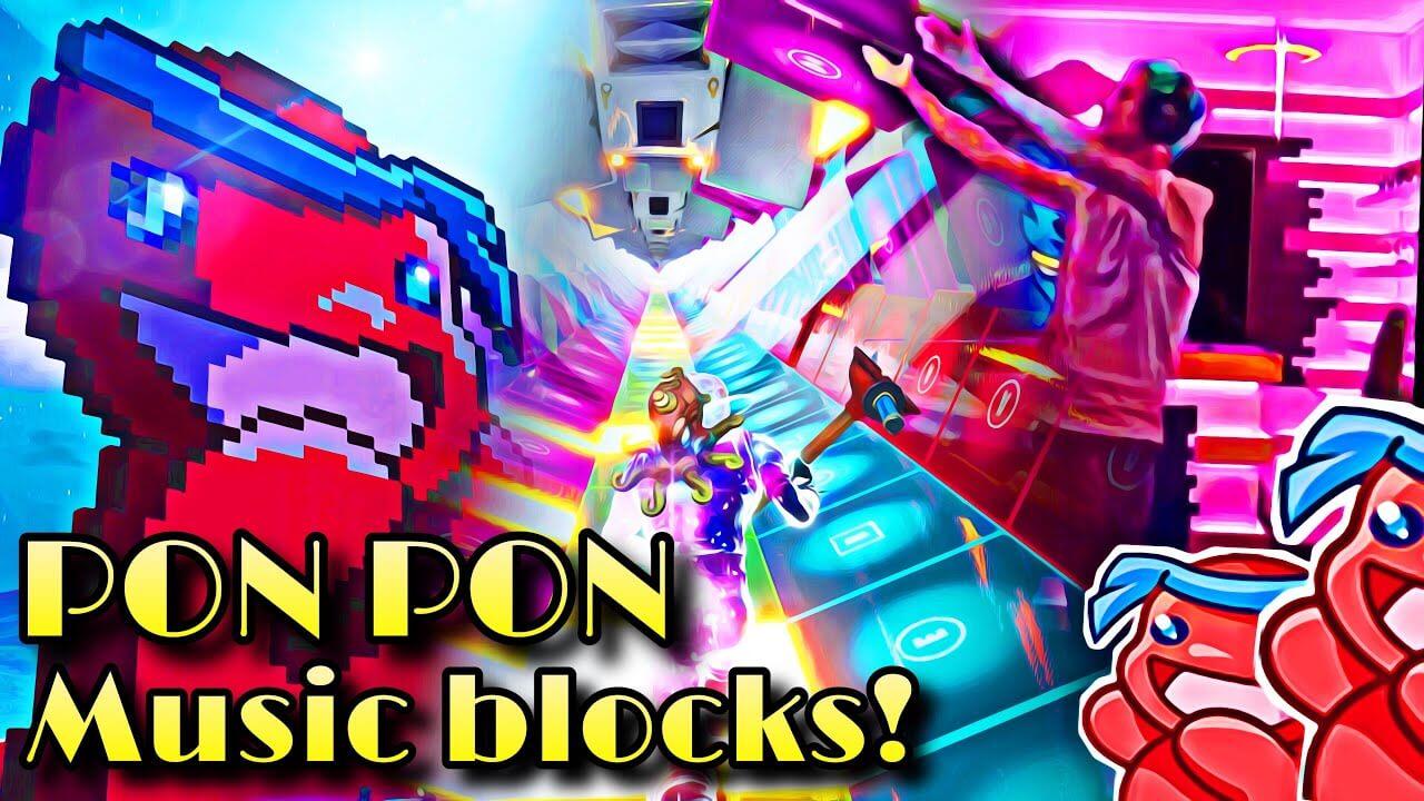 NINJA - PON PON (FULL SONG) - Fortnite Creative Codes