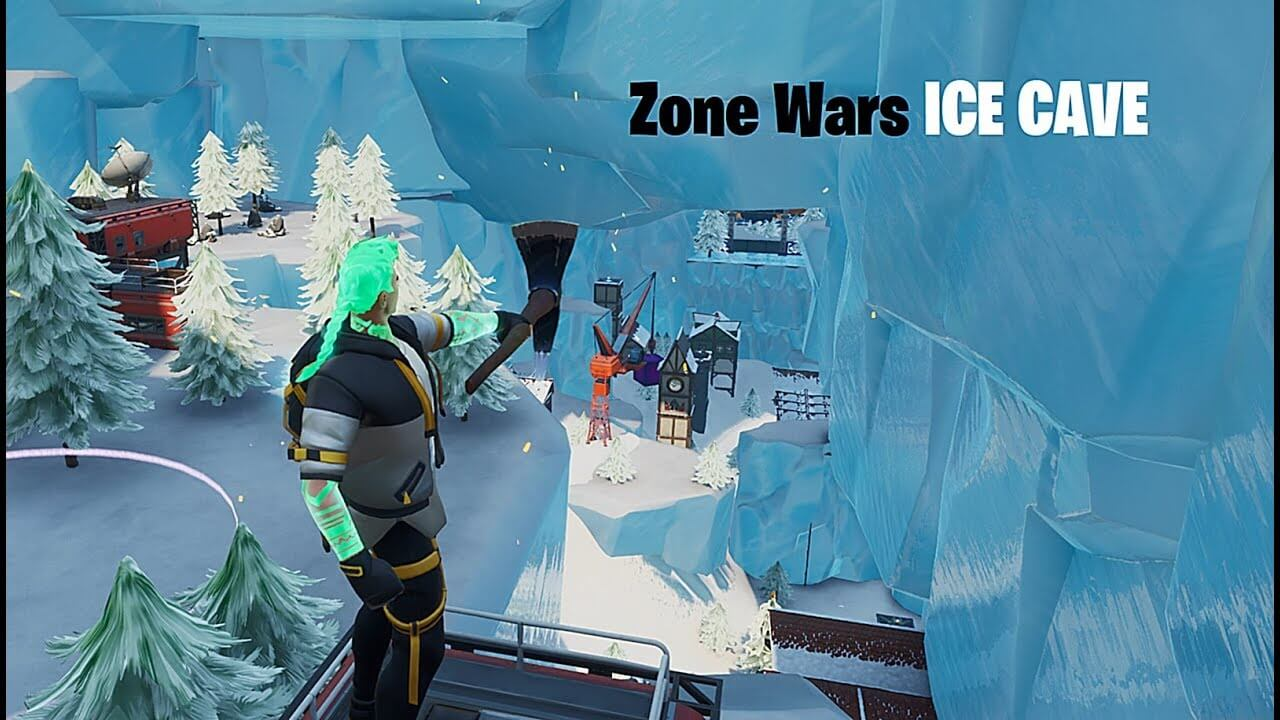 ZONE WARS ICE CAVE