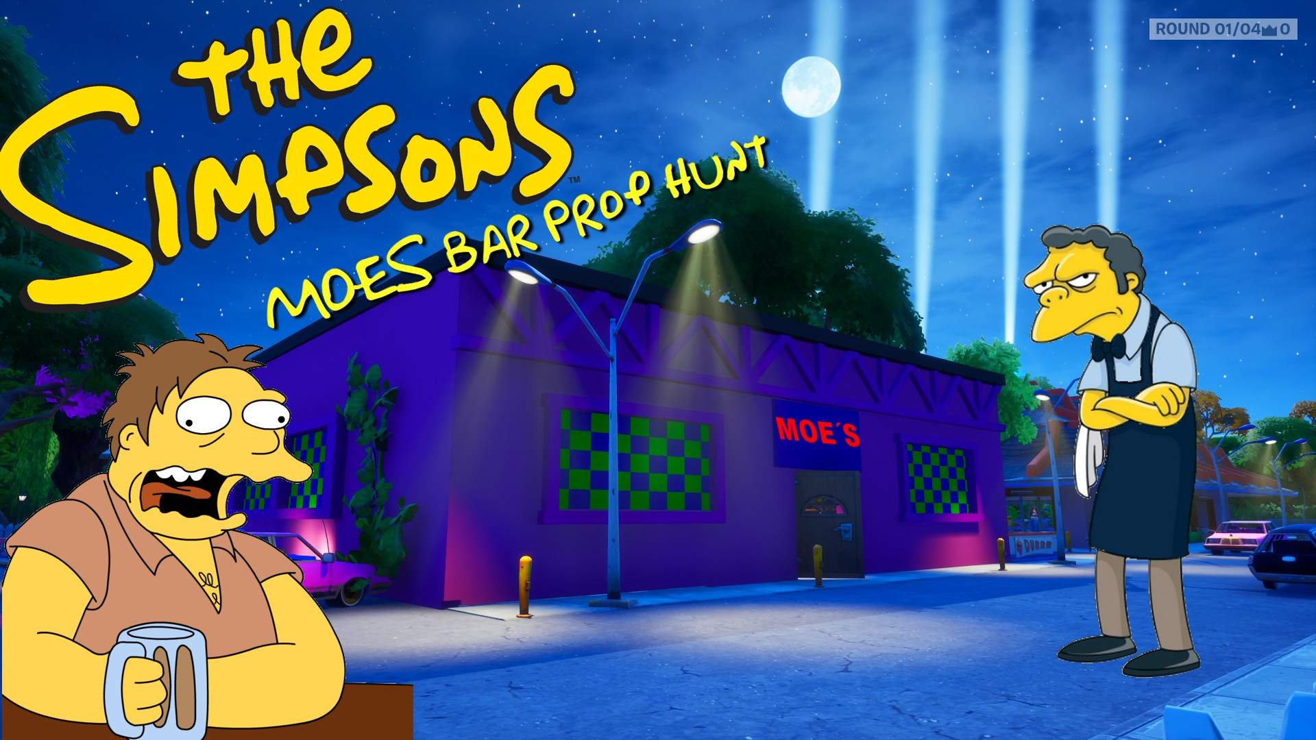THE SIMPSONS - MOES BAR
