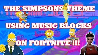 YOUTUBE-NUCKY67 MUSIC MAP : SIMPSONS