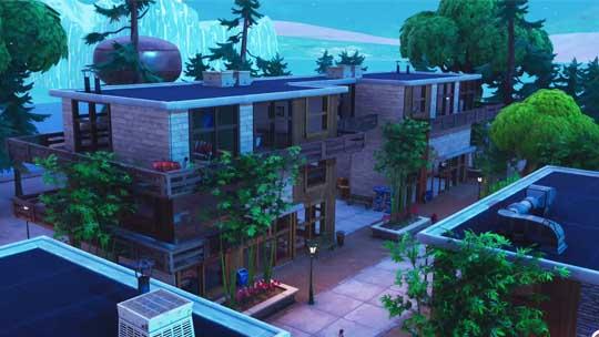 rustic resort - fortnite creative modern house code