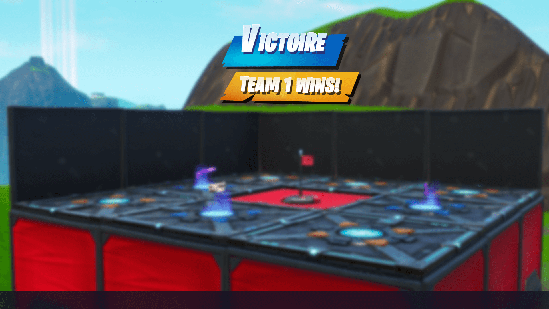 CAPTURE THE FLAG IN FORTNITE