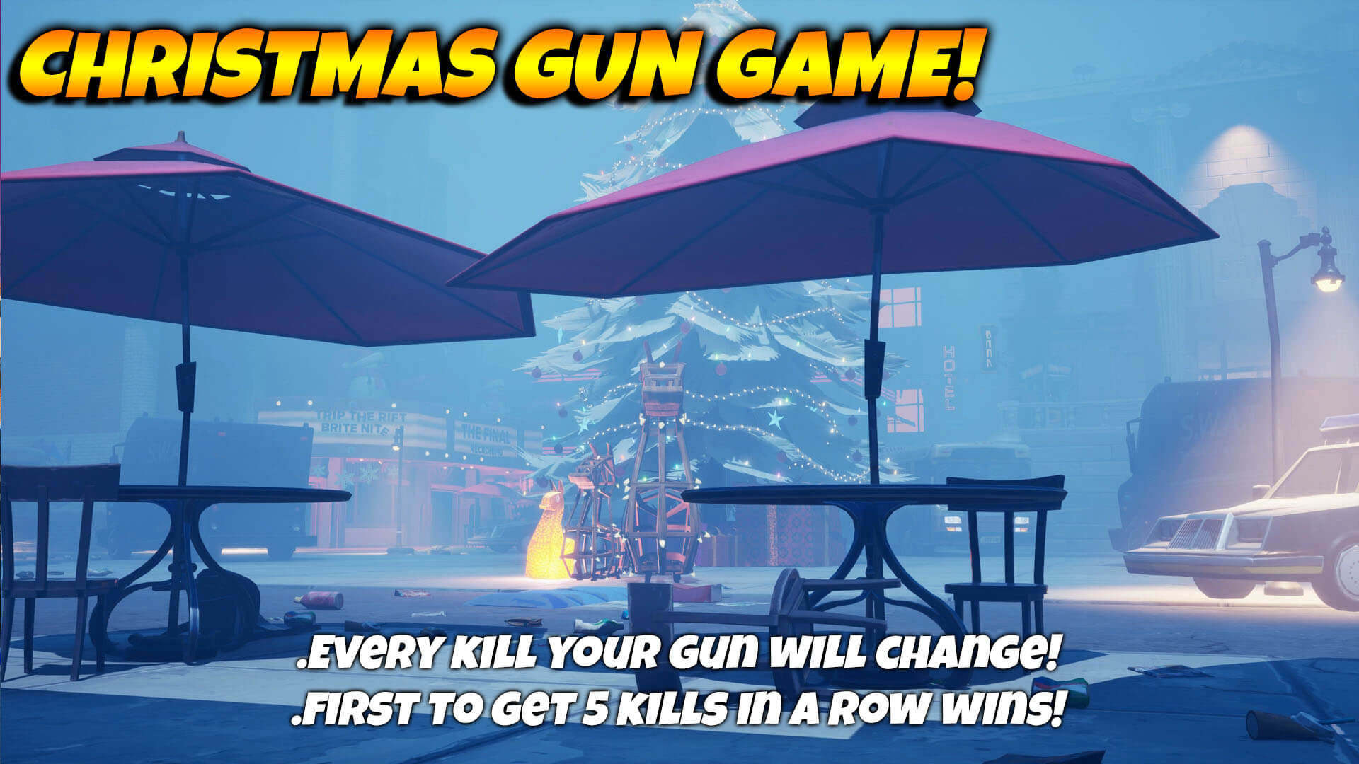 GUN GAME! - CYNICAL CITY CHRISTMAS!