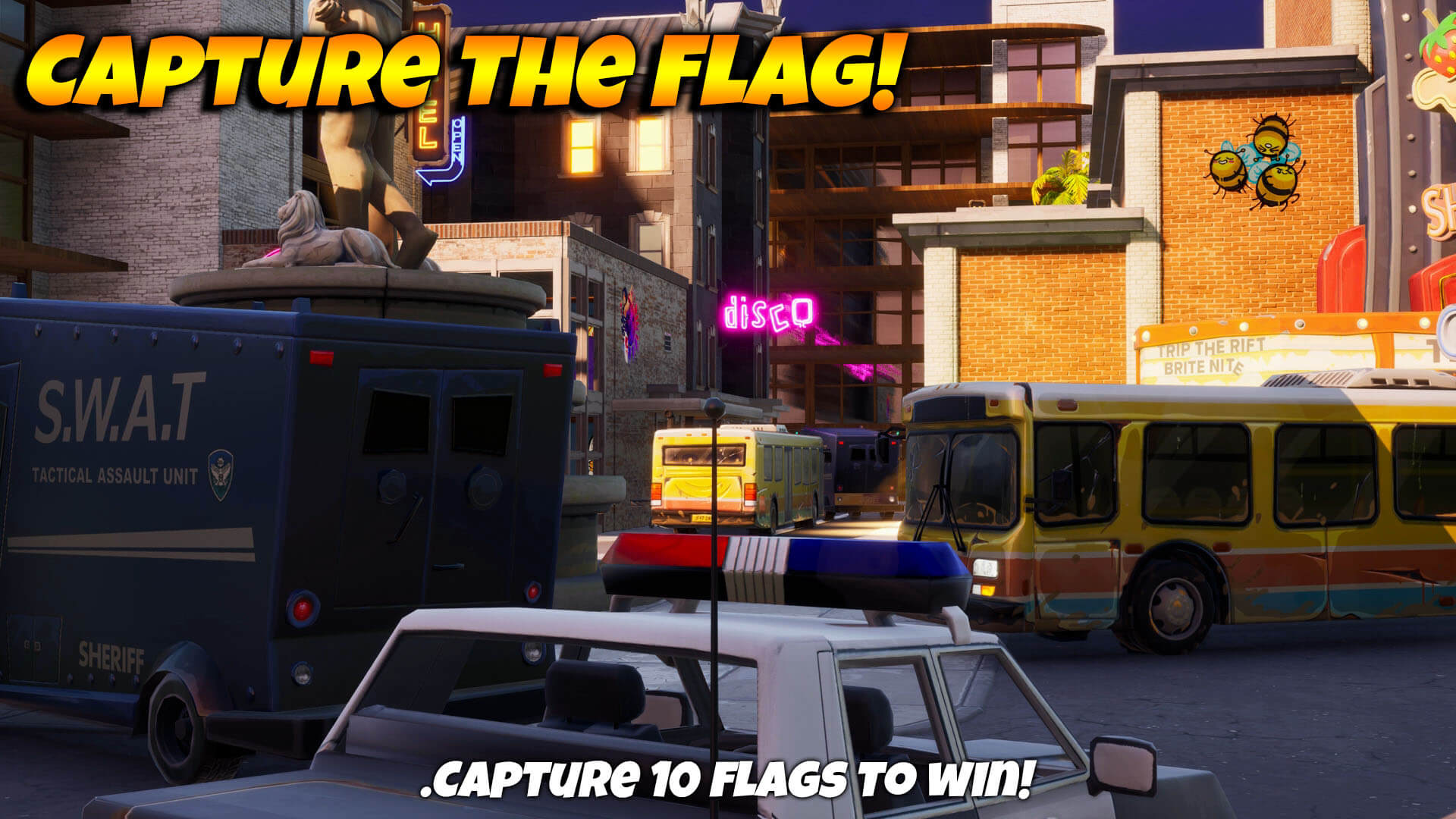 CAPTURE THE FLAG! - CYNICAL CITY!