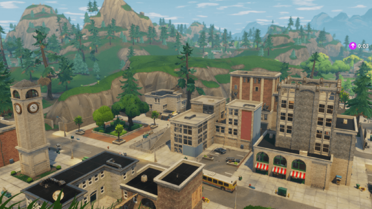 TILTED TOWERS OLD