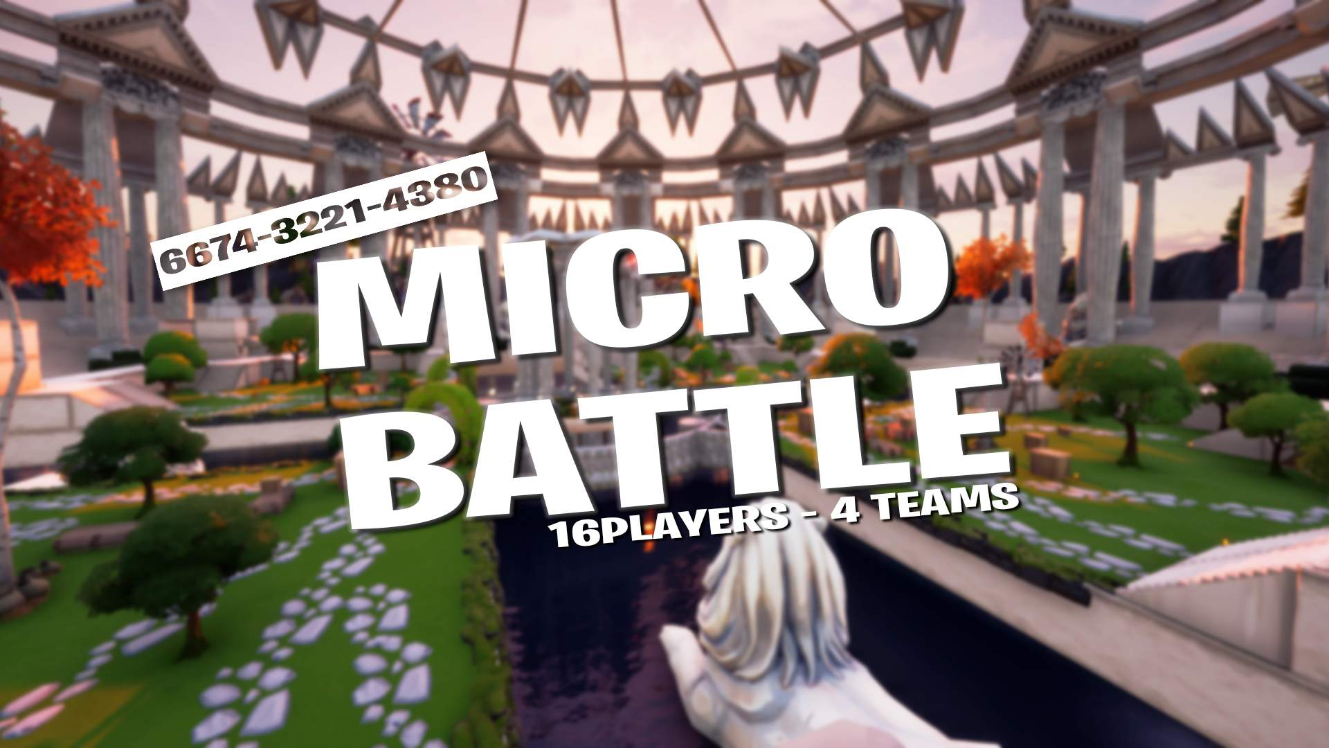 🤏🏻MICRO BATTLE | 16 PLAYERS - 4 TEAMS