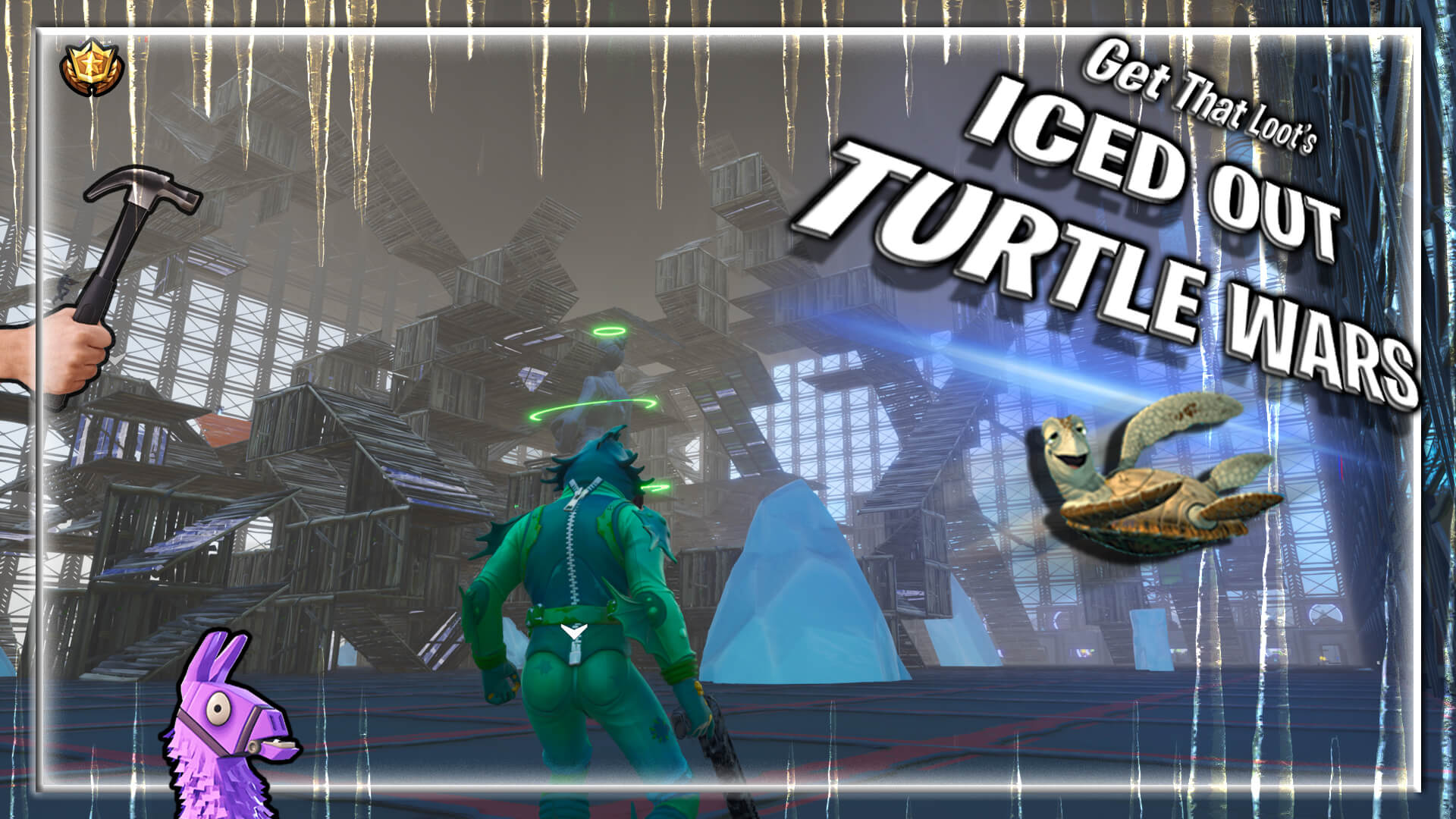 [ ICED OUT ] TURTLE WARS!