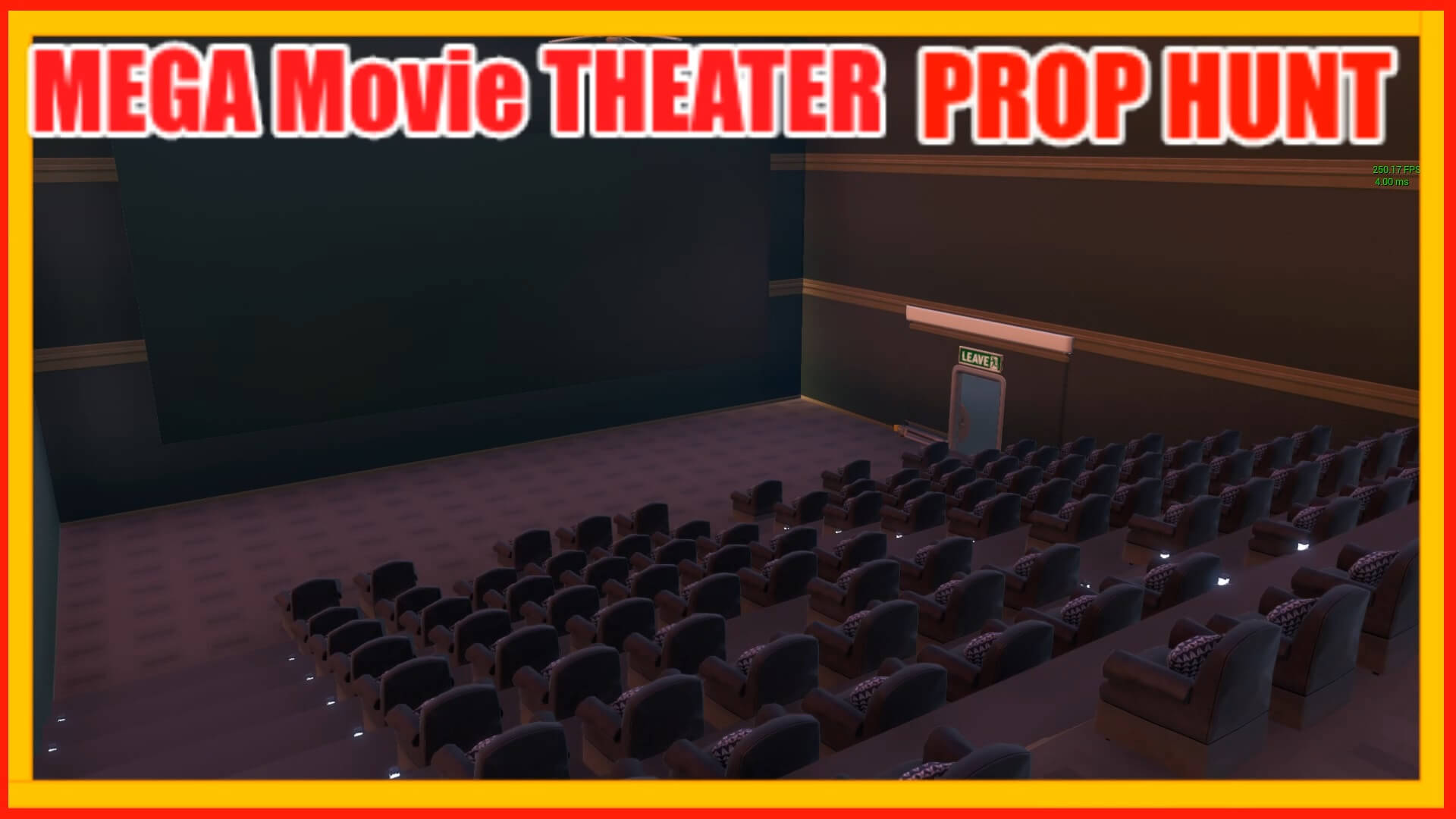 MEGA MOVIE THEATER PROP HUNT