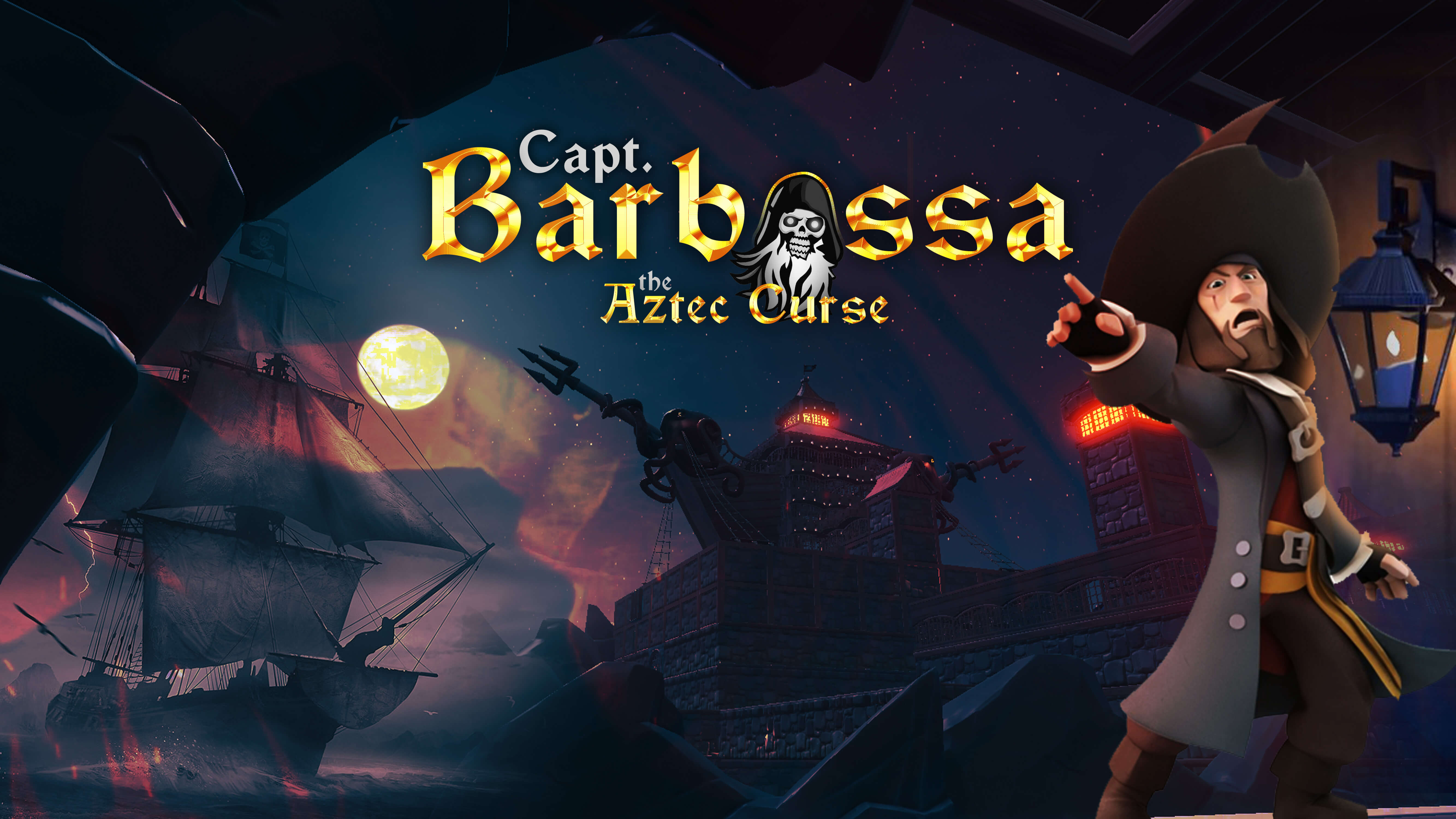 CAPT. BARBOSSA THE AZTEC CURSE