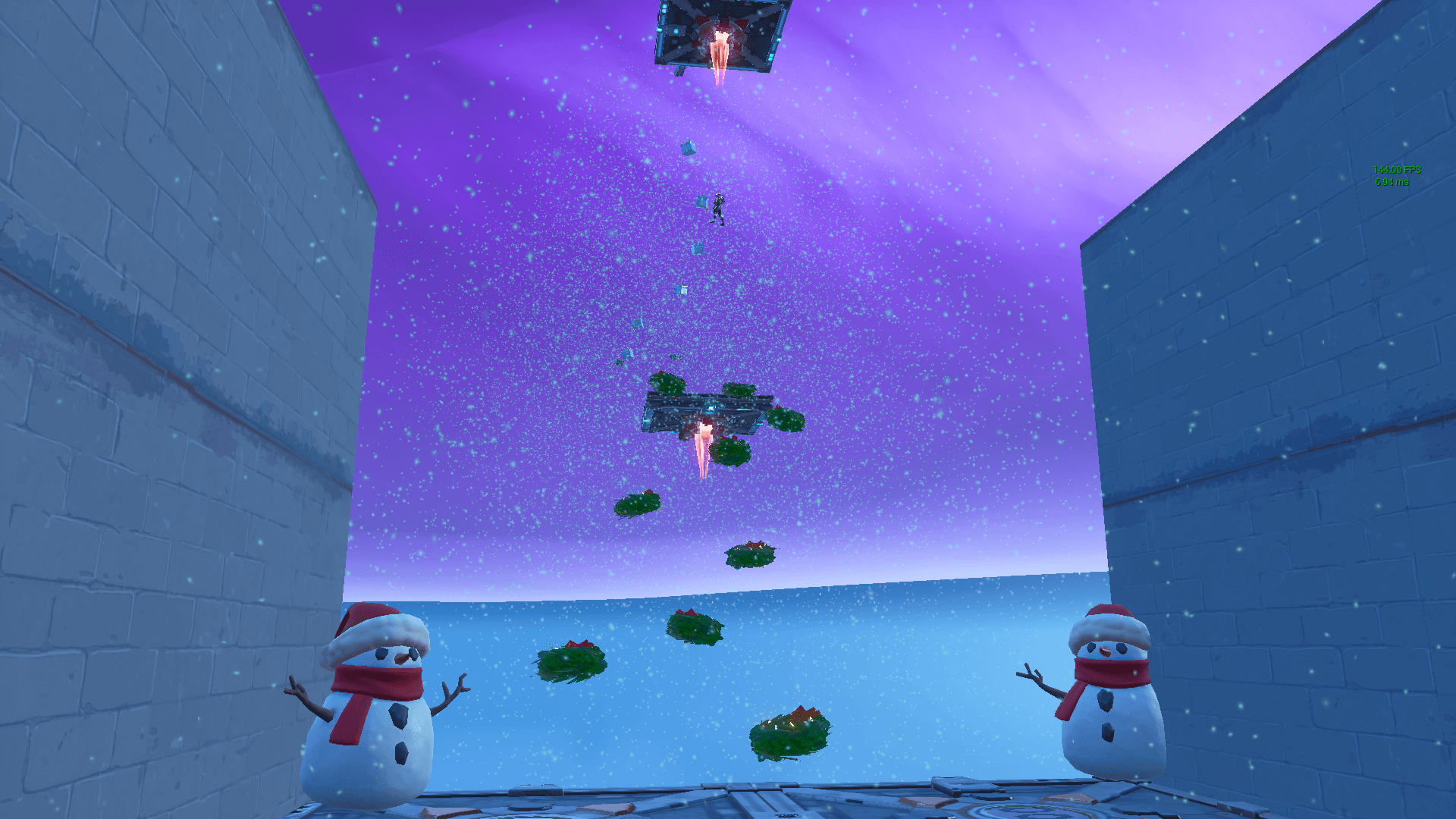 CHRISTMAS FLOATING DEATHRUN