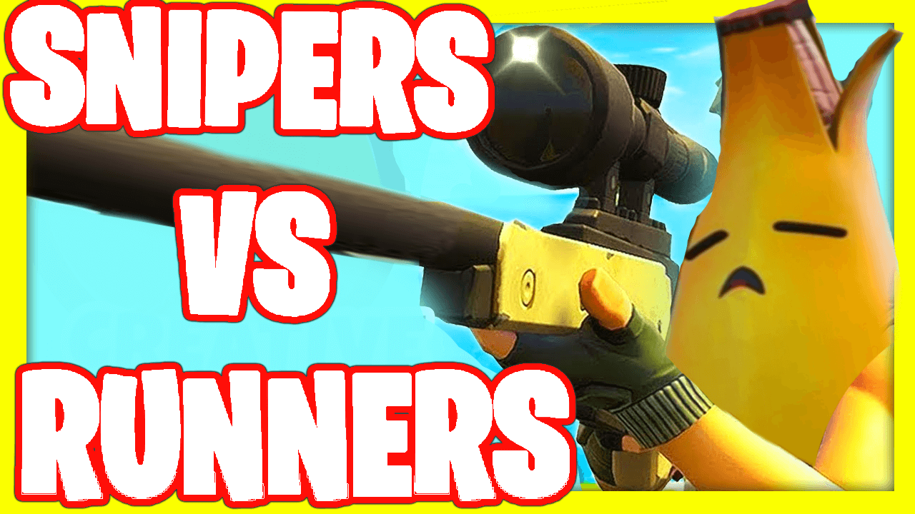 💥SNIPERS VS RUNNERS💥