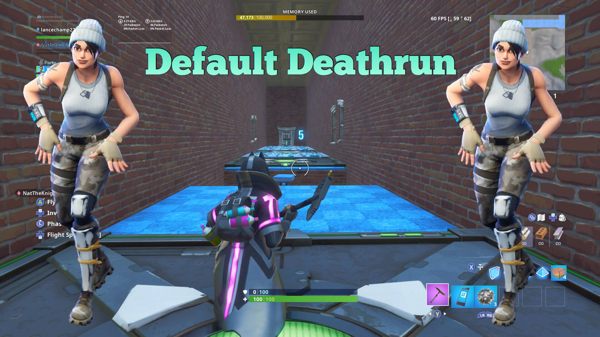 25 LEVEL INDOOR DEFAULT DEATHRUN
