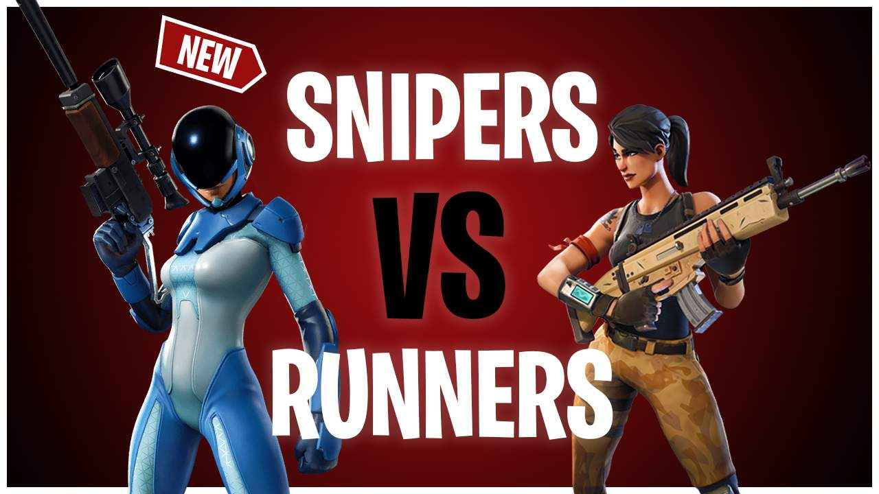 SNIPERS VS RUNNERS(RAINBOW)