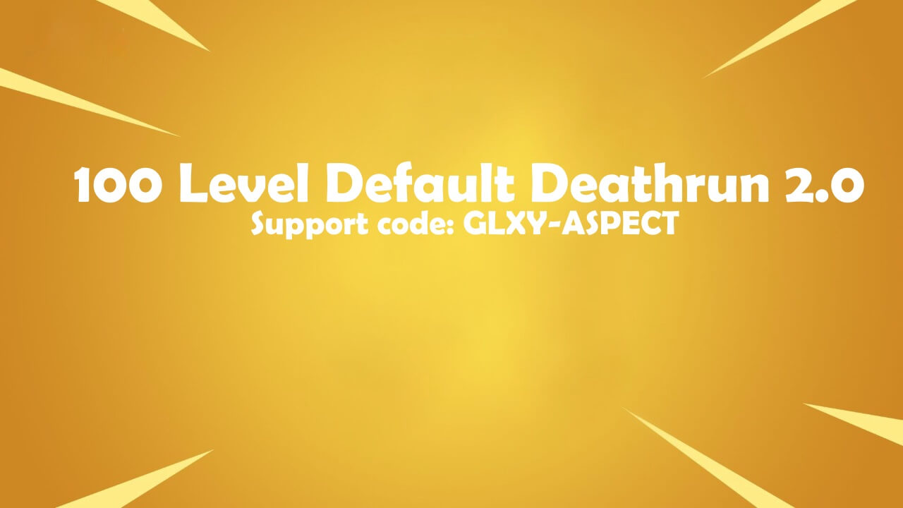 100 LEVEL DEFAULT DEATHRUN