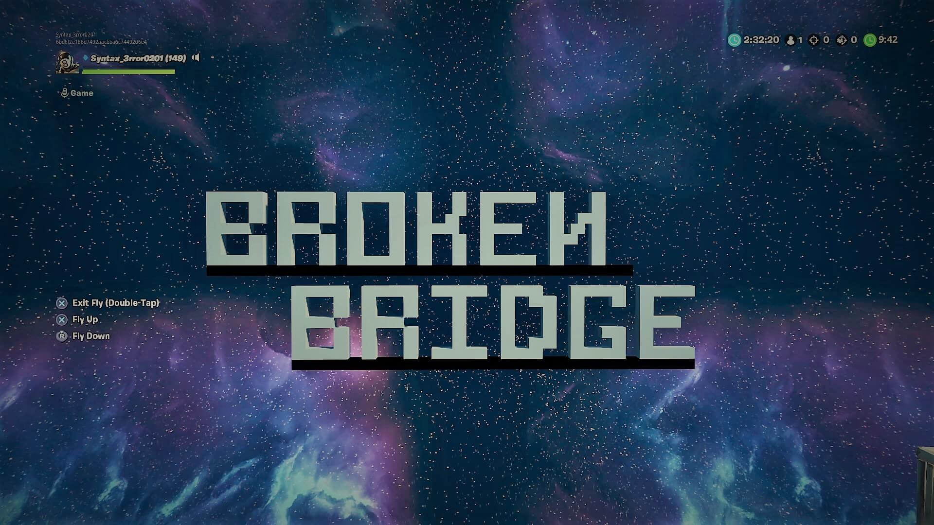 BROKEN BRIDGE INFECTED