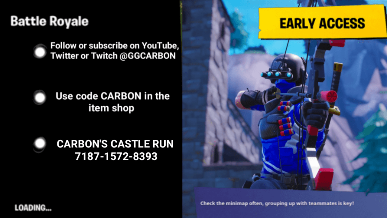 CARBON'S CASTLE RUN