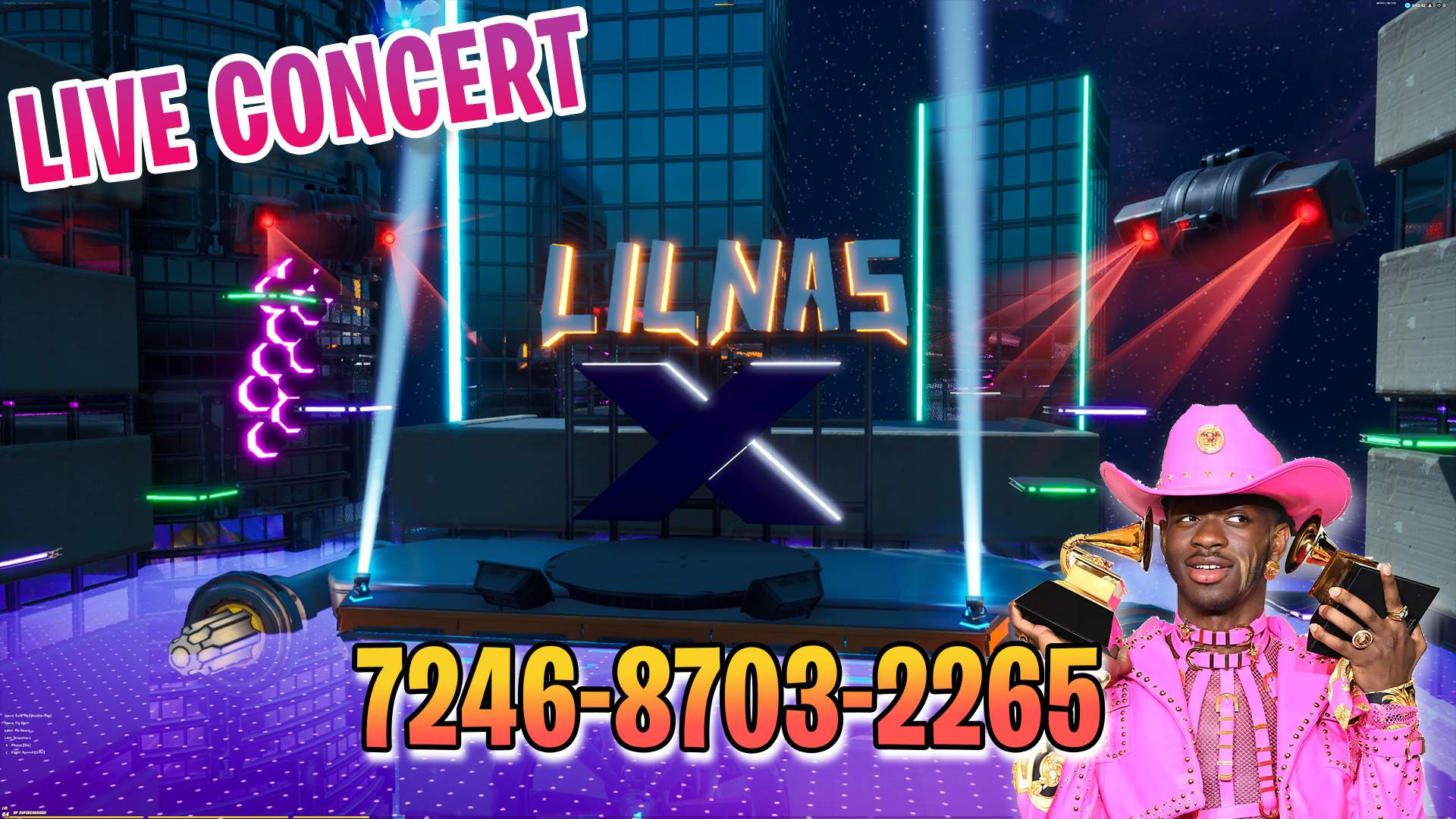LIL NAS X CONCERT (FROM ROBLOX)