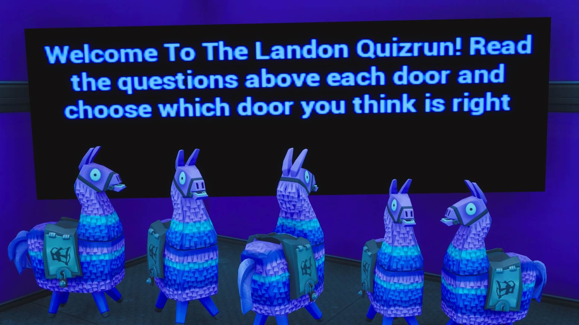 LANDON QUIZ RUN
