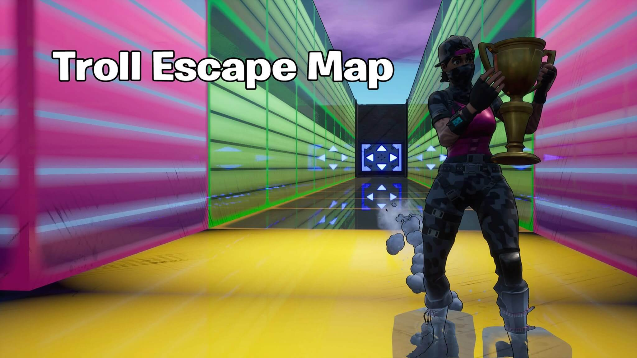 TROLL ESCAPE MAP (COMIC THEME)