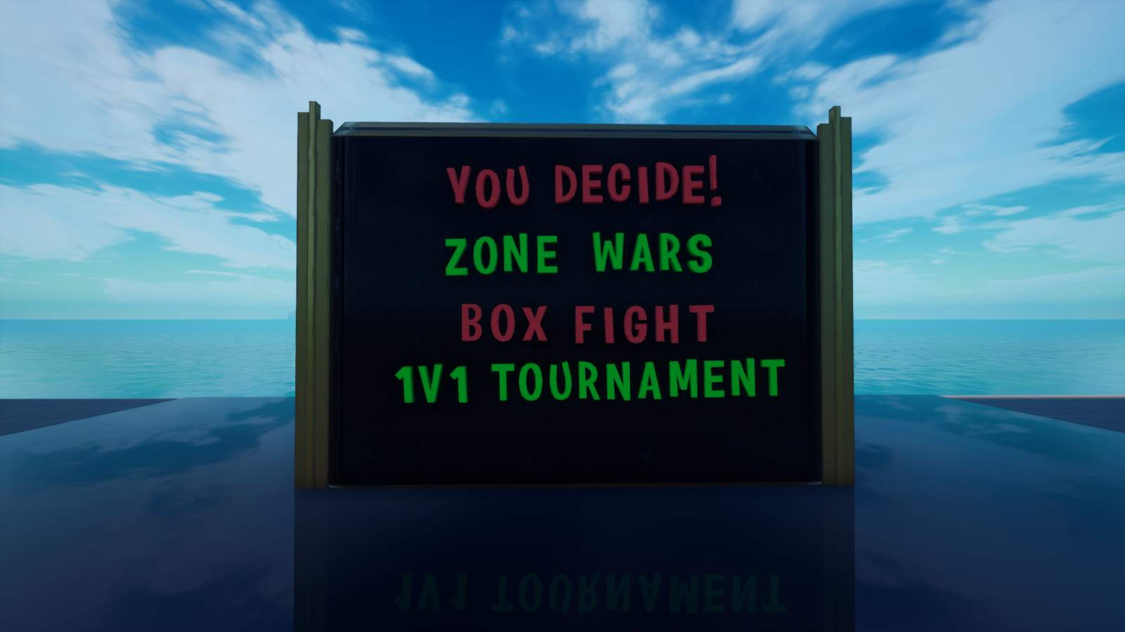 YOU DECIDE! ZONEWARS/BOXFIGHT/TOURNAMENT
