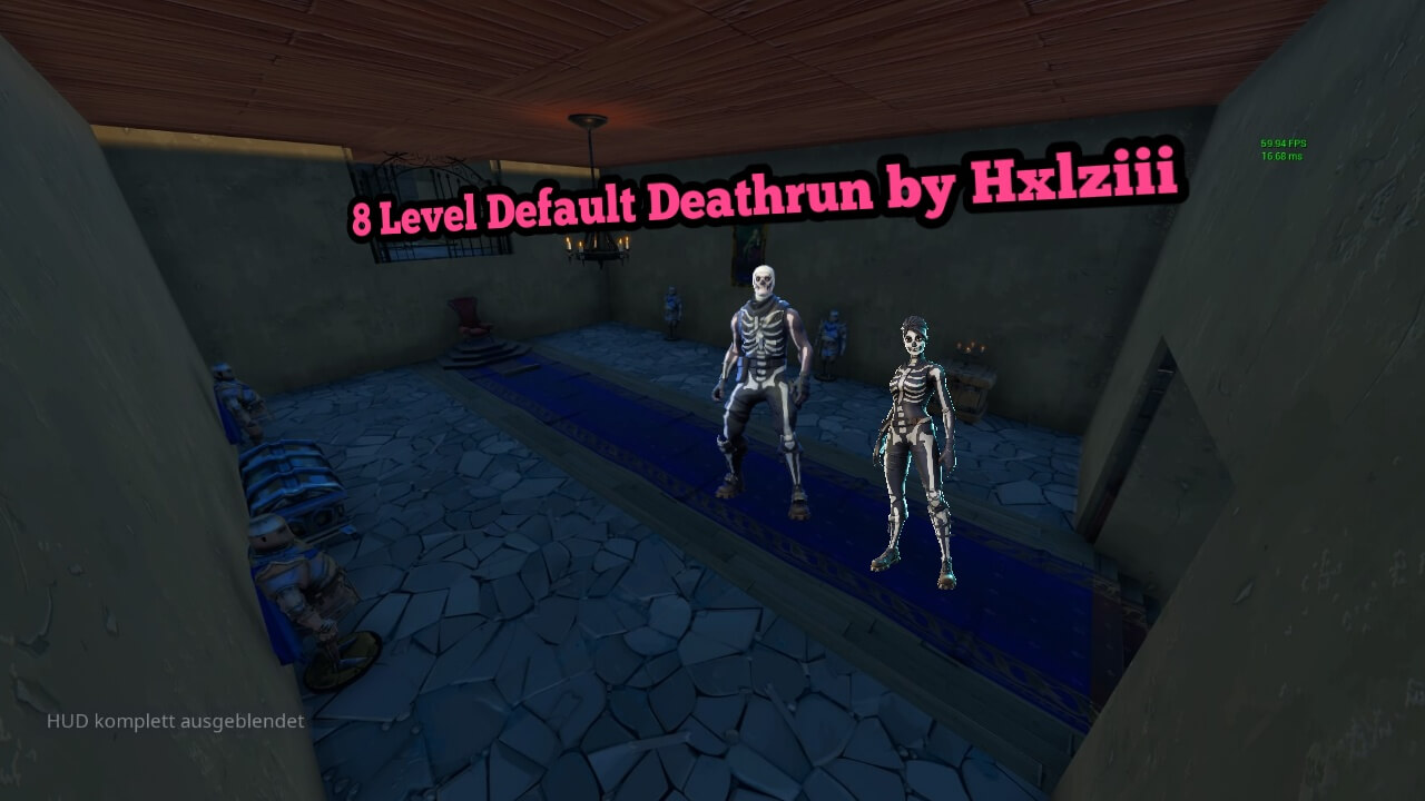 8 LEVEL DEFAULT DEATHRUN BY HXLZIII