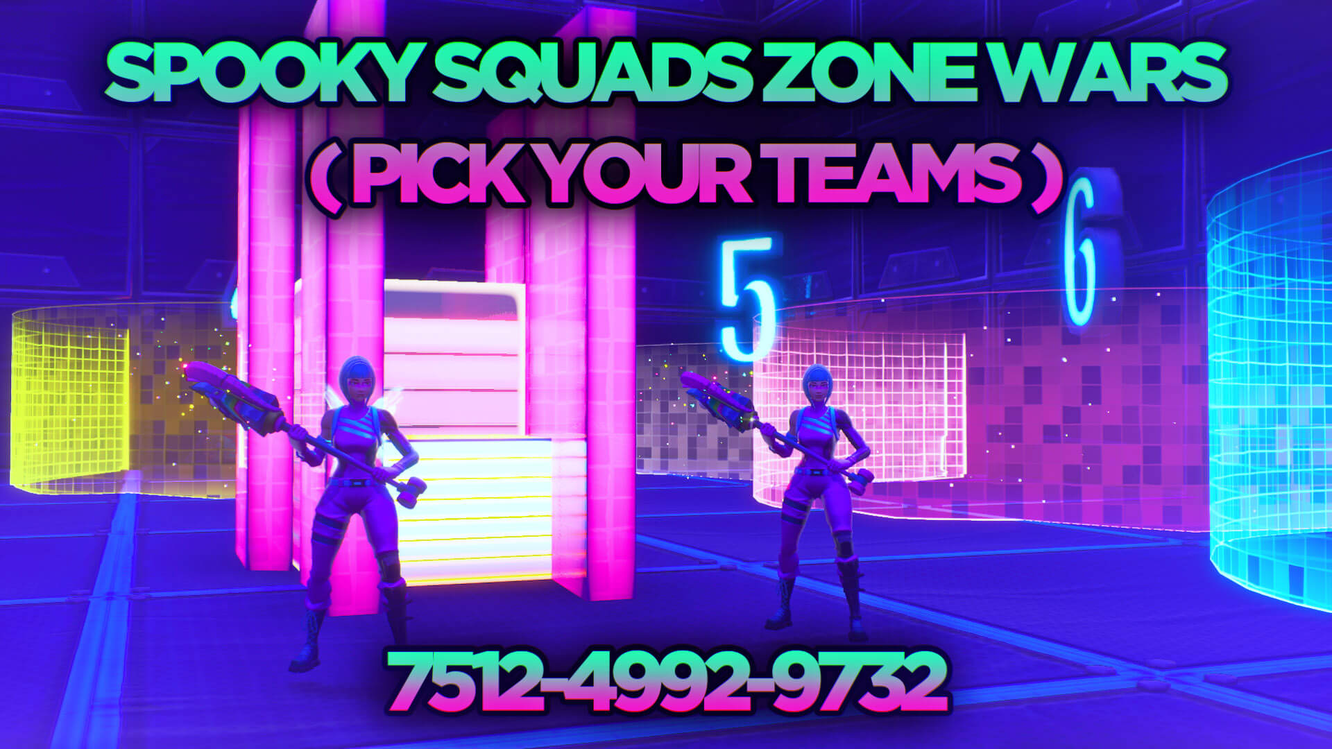 SPOOKY ZONE WARS ( SQUADS ) PICK TEAMS