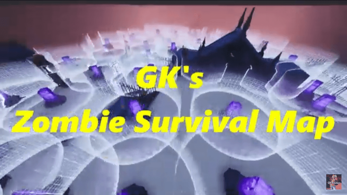 GK'S ZOMBIE SURVIVAL MAP!!