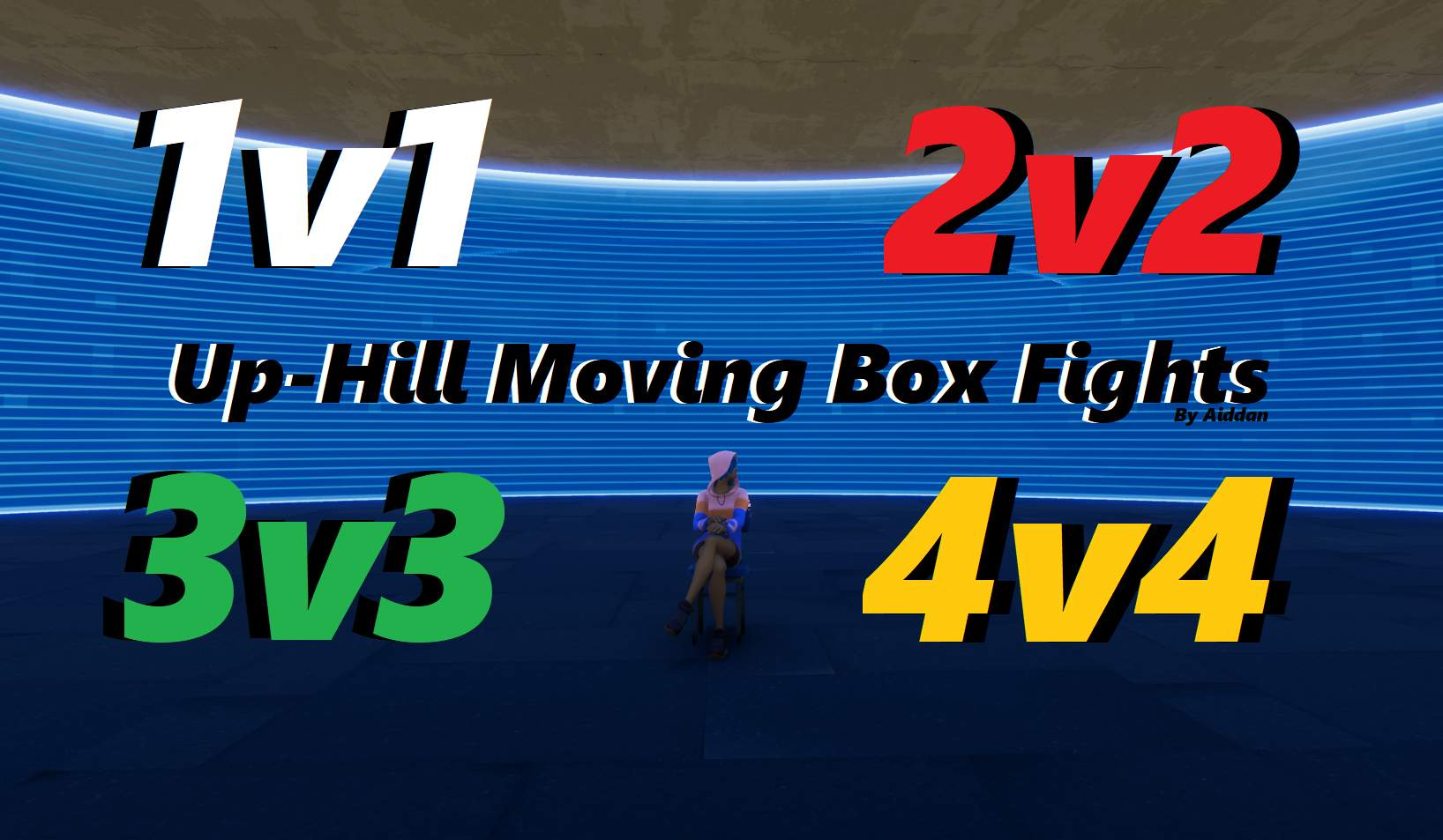 1V1/2V2/3V3/4V4 UP-HILL MOVING BOX FIGHT