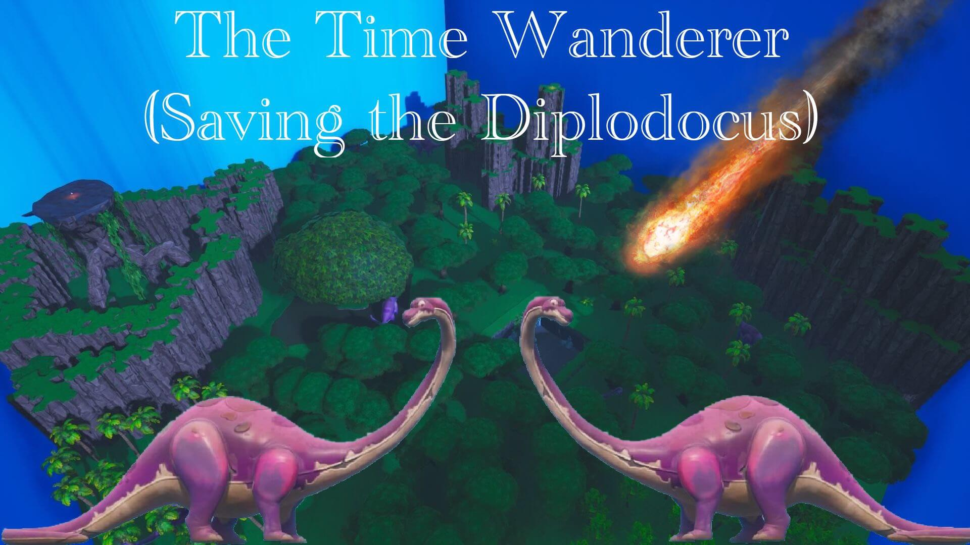 TIME WANDERER (SAVING THE DIPLODOCLUS)
