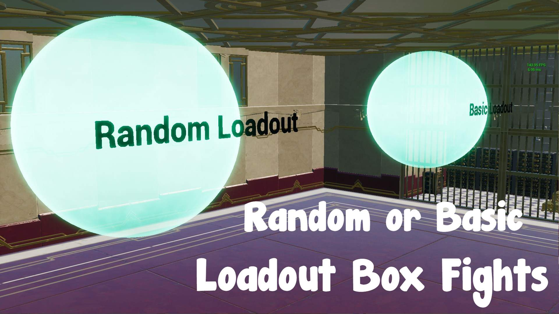 RANDOM OR BASIC LOADOUT BOX FIGHTS