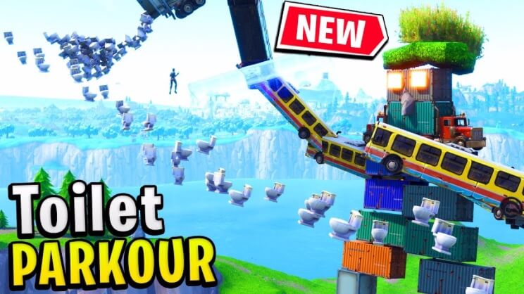 creative island codes for parkour