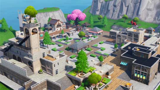 Covert Courtyard Zombies Fortnite Creative Map Codes