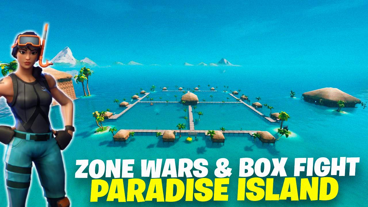 ZONE WARS & BOX FIGHT: PARADISE ISLAND