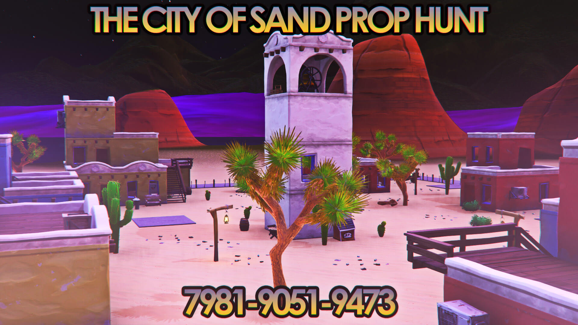 THE CITY OF SAND PROP HUNT