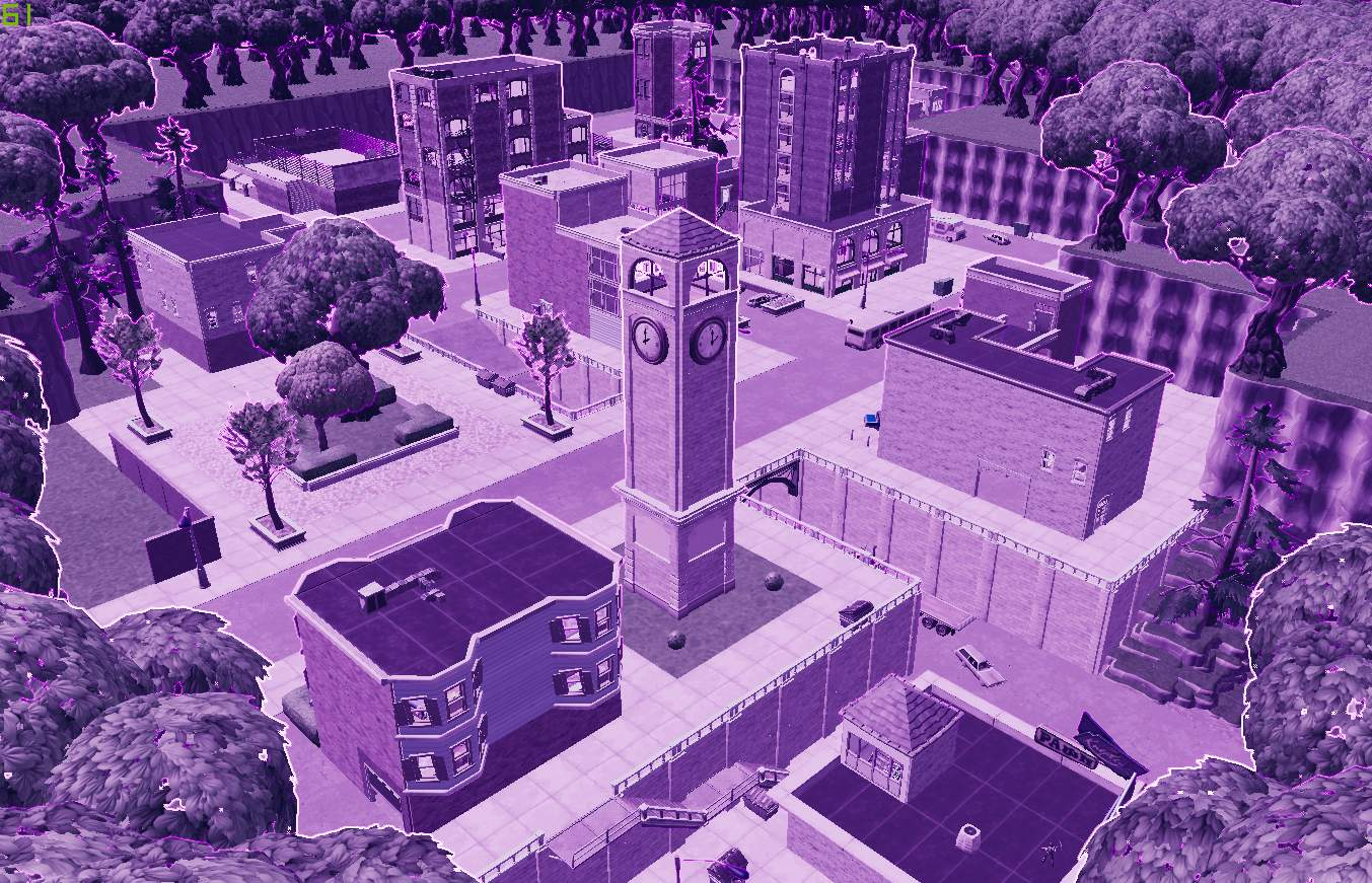 TILTED TOWERS BUT RETRO
