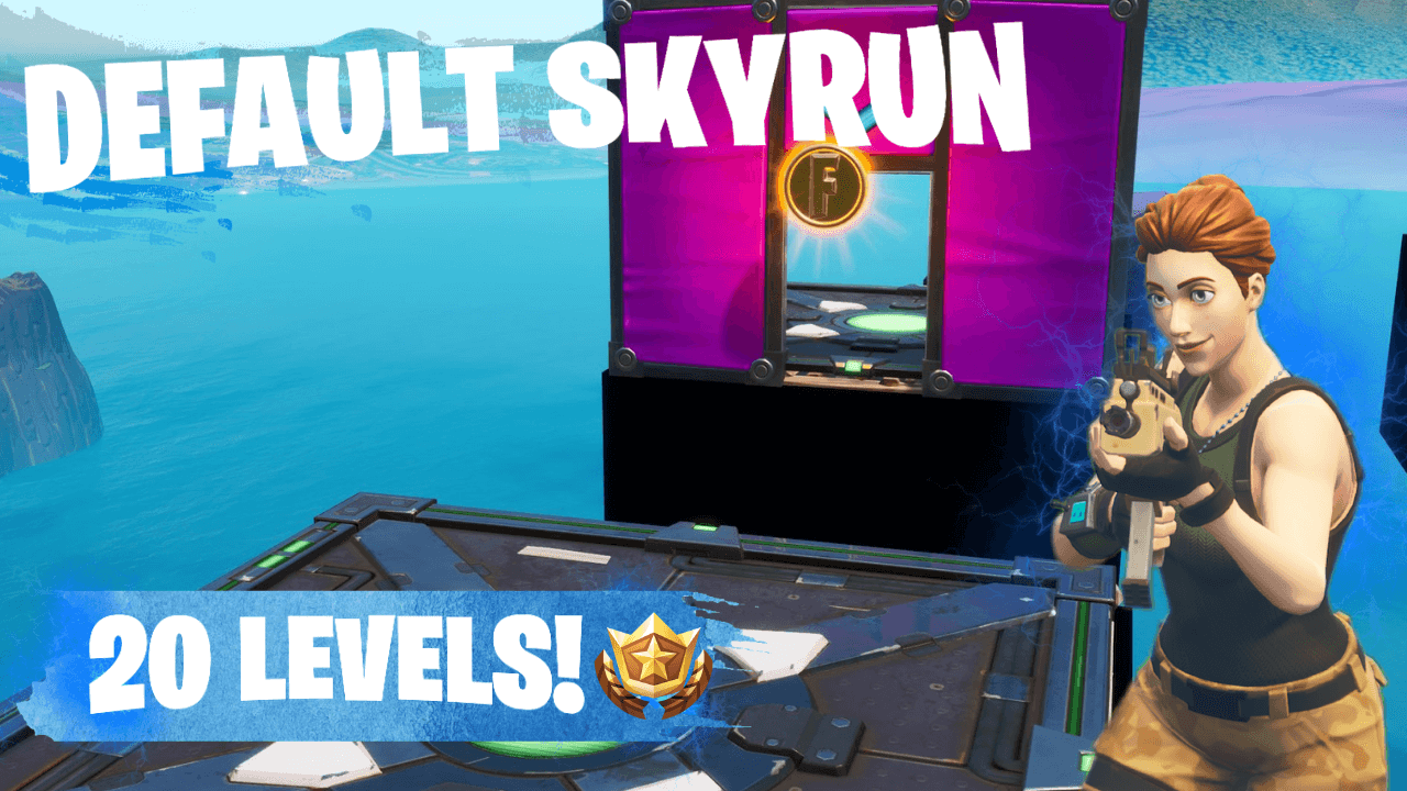DEFAULT SKYRUN (20 LEVELS)