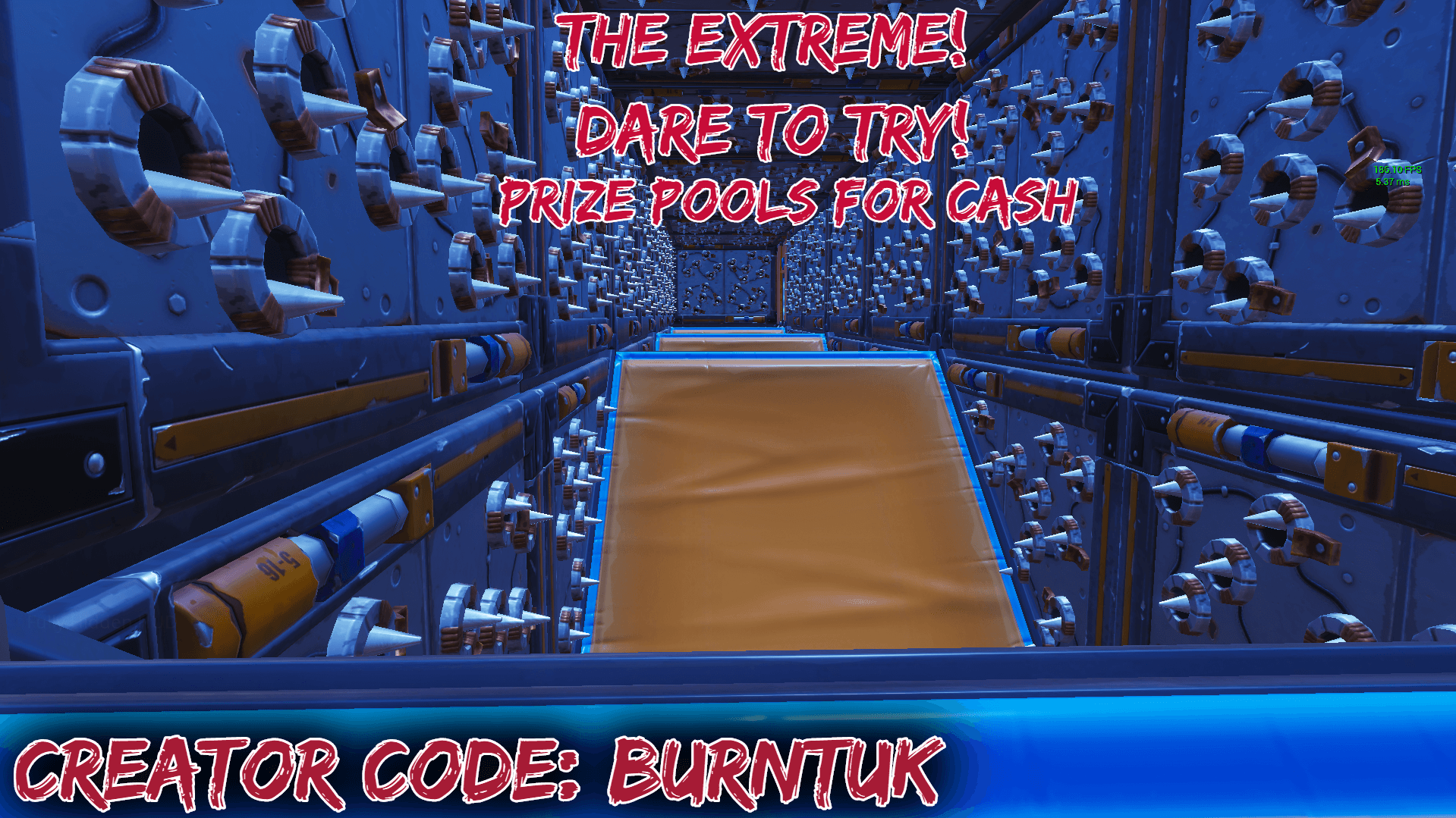 BURNTS EXTREME DEATHRUN! PRIZE POOL